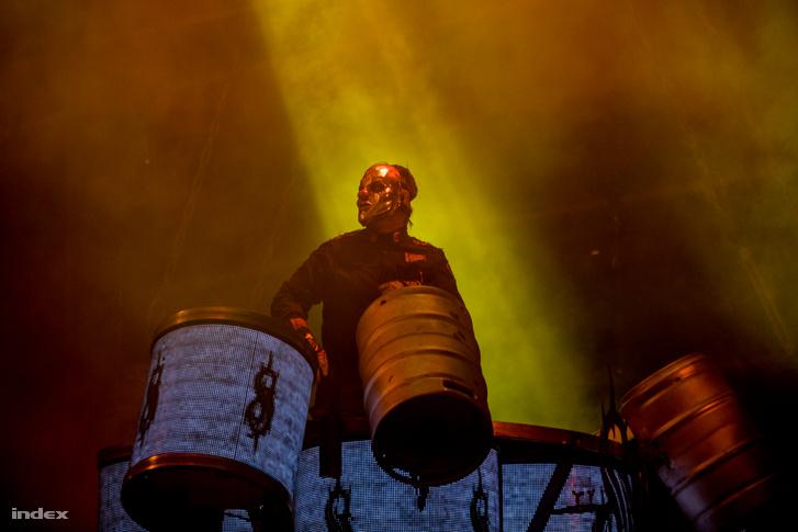 Shawn Crahan a Volt Fesztiválon, 2019-ben