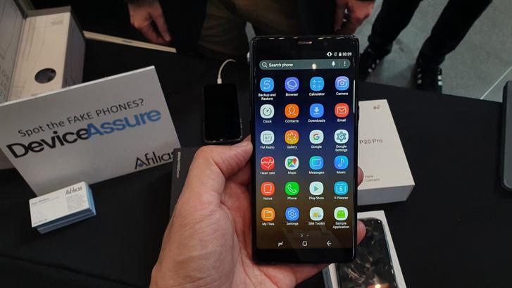 Klónozták a Samsung saját alkalmazásait