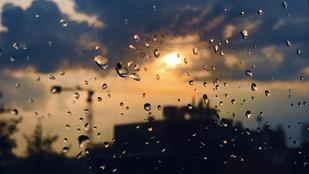 Napsütés és zápor is lehet ma