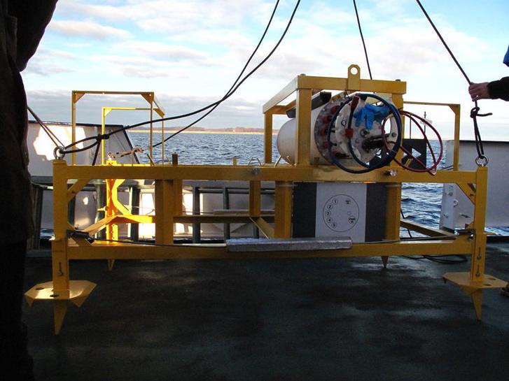 Az obszervatórium korábban, a kutatóhajó fedélzetén