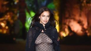 Irina Shayk meztelenül reklámozza a Calvin Kleint