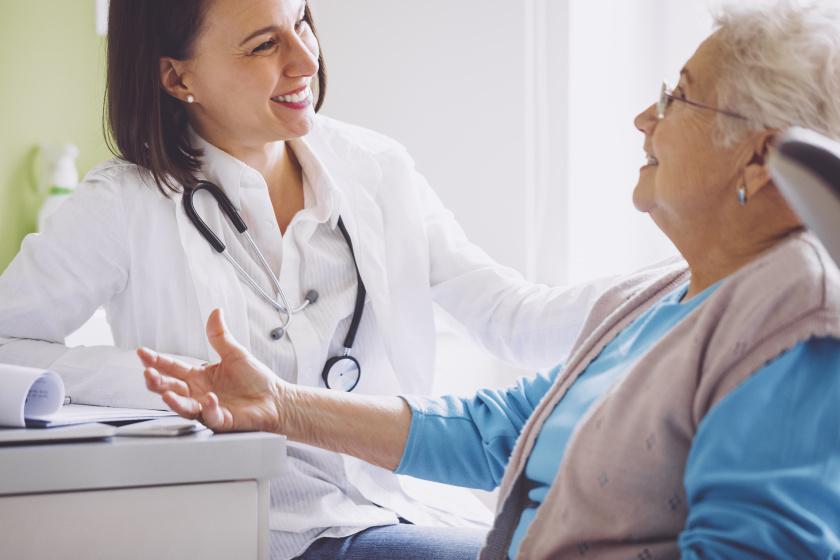 az orvos konzultáció