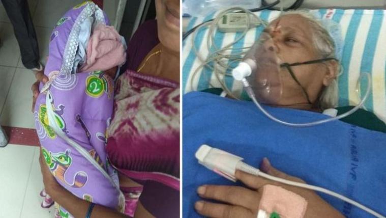 Intenzív osztályra került az indiai nő, aki 74 évesen szülte meg az ikreit