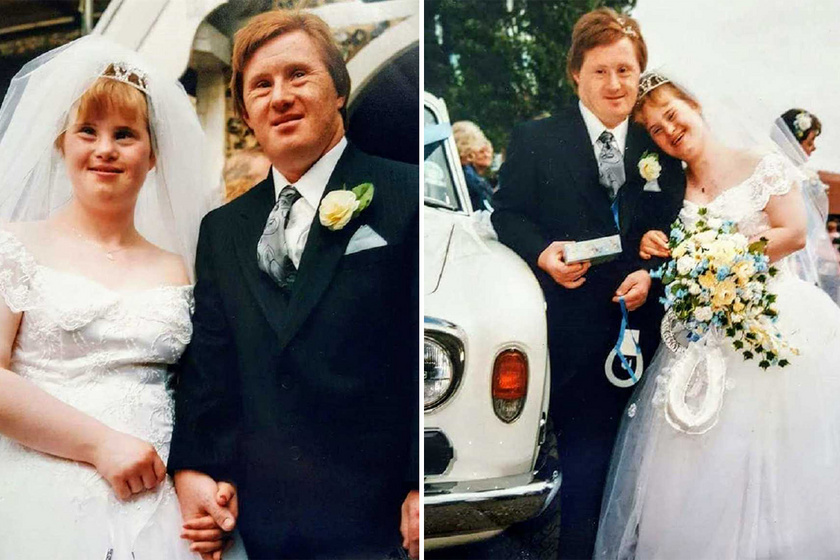 Sem írni, sem olvasni nem tudnak, de tudják, mi a szerelem - A Down-szindrómás pár 29 éve él boldog házasságban