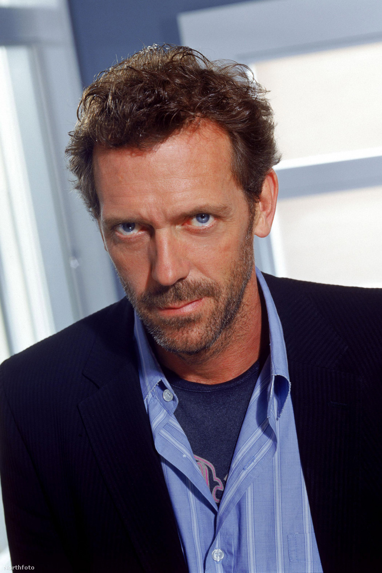 Hugh Laurie, a Dr. House főszereplője