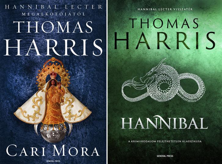 Cari Mora és a Hannibal című könyv borítója