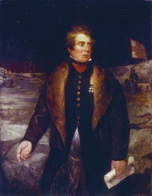 John Ross 1833-as arcképe.