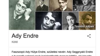 Trágár támadást indítottak Ady Endre wikipediás szócikke ellen