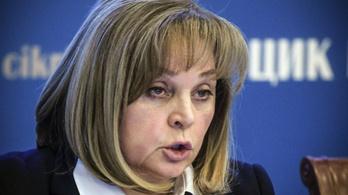 Sokkolóval támadtak az orosz választási bizottság elnökére