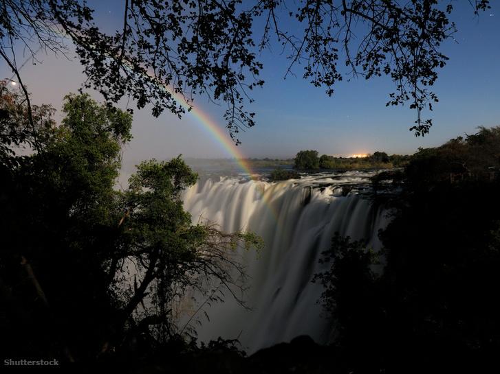 Victoria-vízesés, Zambia
