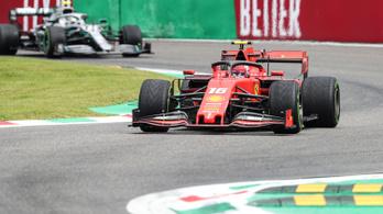 Egy hajszál csak a Ferrari és a Mercedes között Monzában