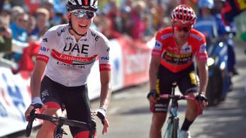 Szlovénok uralták a Vuelta brutális meredekségű emelkedőjét