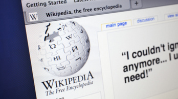 Kicsit köhög a Wikipédia