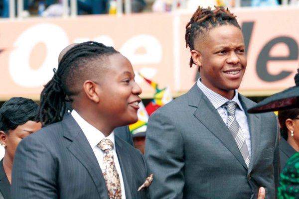 Mugabe playboy fiai, Robert Junior és Chatunga Bellarmine
