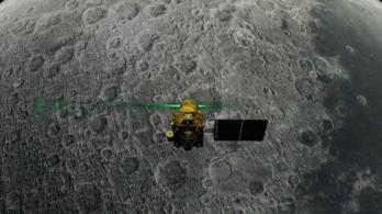 Kudarcba fulladt az indiai Hold-misszió