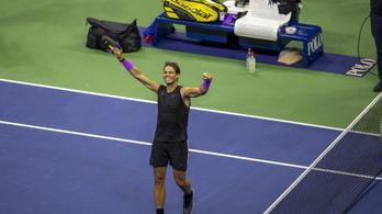Nadal hengerelt, történelmi US Open-döntőre készülhet