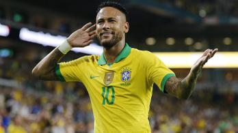 Gólpassz, gól: Neymar visszatért a sérülésből