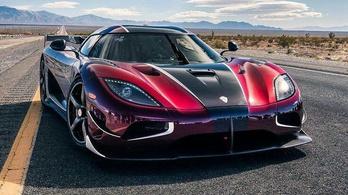Koenigsegg: A rekord még nálunk van!