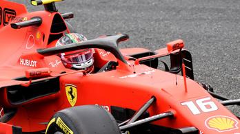 Leclerc nyerte a hatalmas cikivel záruló olasz időmérőt