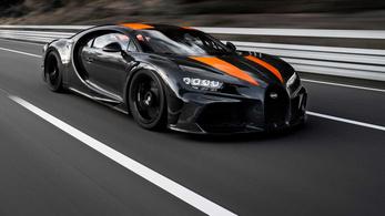Bugatti: Nevadában az 515 km/h is meglehetett volna