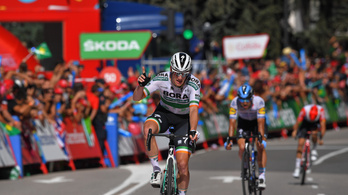 Vuelta: az óriási bukás után alig valaki maradt a sprintre