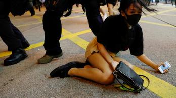 Tovább tüntetnek Hongkongban, hiába vonták vissza a kiadatási törvényt