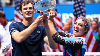 Andy Murray bátyja történelmet írt a US Openen