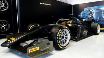 Monzában bemutatták a 18 colos F1-felniket