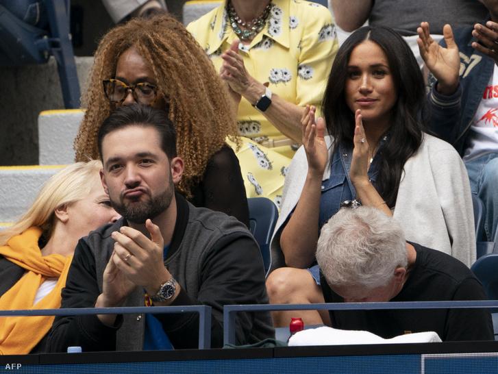 Meghan hercegné, Harry herceg felesége is a közönségben izgult.