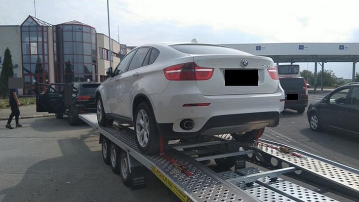 Körözés alatt lévő autót foglalt le a román hatóság a határátkelőn