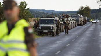Újabb katonai konvojok közlekednek majd az országban hétfőn