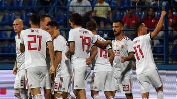 Történelmi győzelemmel elérhető a hazai futball-Eb