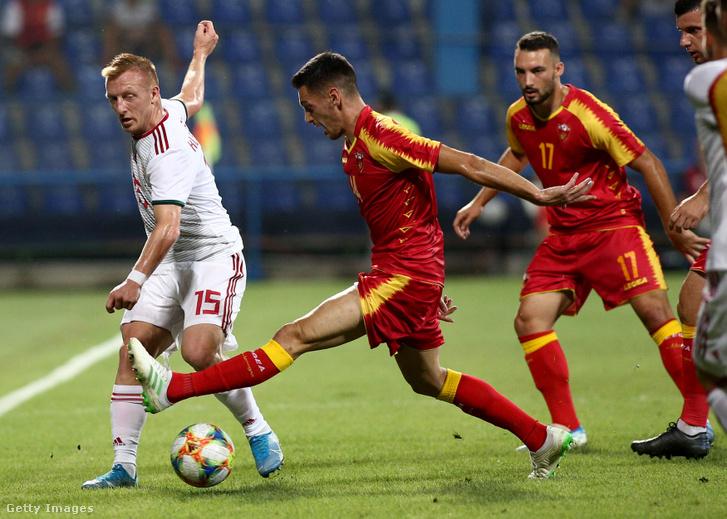 Kleinheisler a Montenegro elleni barátságos mérkőzésen, 2019 szeptember 5-én.