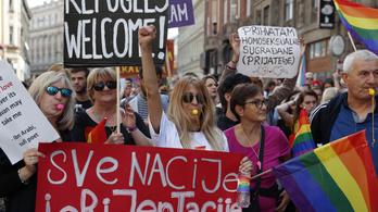 Mindennek ellenére békésen zajlott az első szarajevói Pride Felvonulás