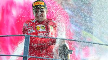 Borzasztó nyomás alatt nyert Leclerc Monzában