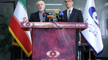 """Urán nyomaira bukkantak egy """"titkos iráni atomraktárban"""""""