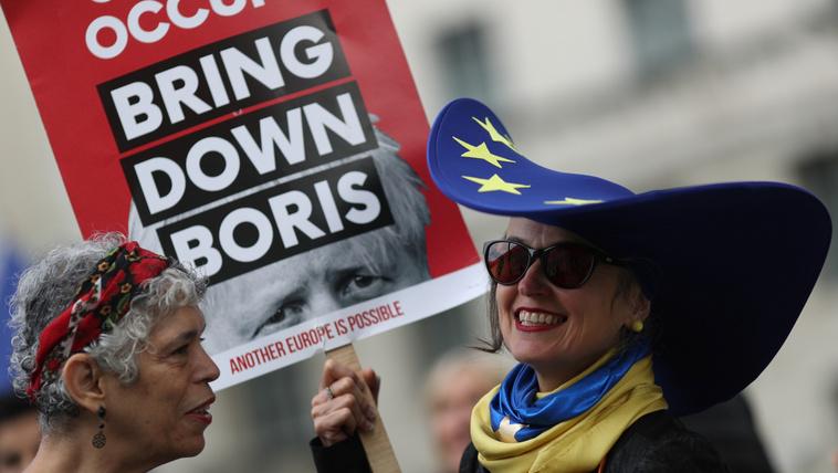 Jogászkodással kerülnék meg a brexithalasztást Boris Johnsonék