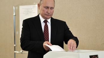Nagyot zuhant az orosz kormánypárt Moszkvában