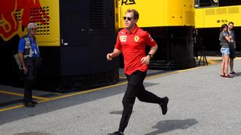 Vettelt már futameltiltás fenyegeti