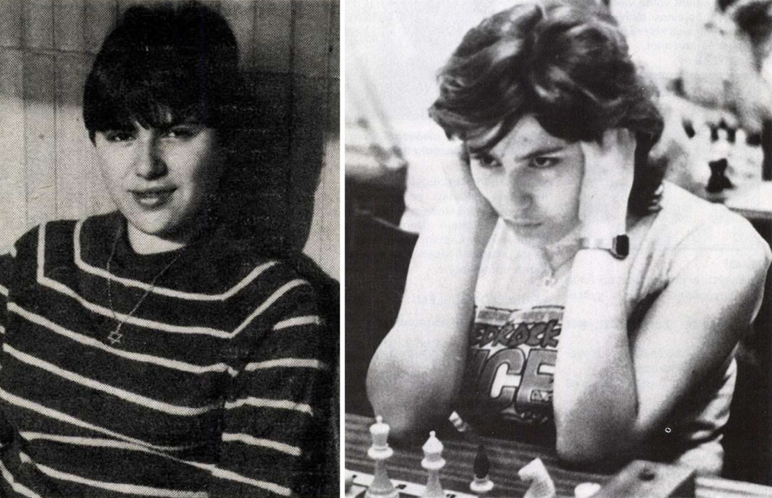 Jobb oldalon: A magyar női sakkozás történetében először: Polgár Zsuzsa férfi nemzetközi mesteri minősítést szerzett! Forrás: Sakkélet 1985 / Arcanum adatbázis; Bal oldalon: Polgár Zsuzsa Bilbaóban meglepetést keltő teljesítményt nyújtott. Forrás: Sakkélet 1987 / Arcanum adatbázis