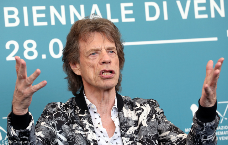 Mick Jagger a Velencei Filmfesztiválon