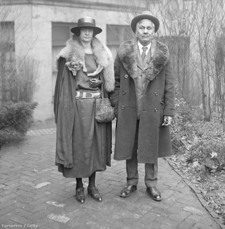 Jackson Barnett feleségével (1923)