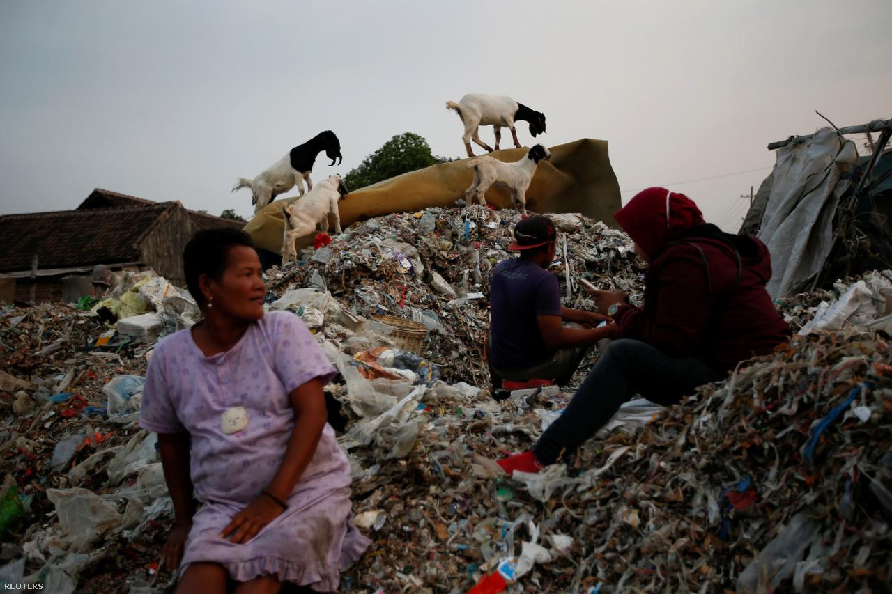 A 3600 fős, Bangunt és sok más indonéz falut só szerint elöntött a szemét, miután a nyugati hulladék első számú felvevő piaca, Kína elsőként bezárta a kapuit a szemétkonténerek előtt. csak műanyag hulladékból 2018-ban Indonézia 283 ezer tonnát importált, 141 százalékkal többet, mint egy évvel korábban.