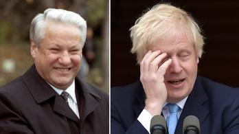Összekeverte Boris Johnsont a volt orosz elnökkel Izrael miniszterelnöke