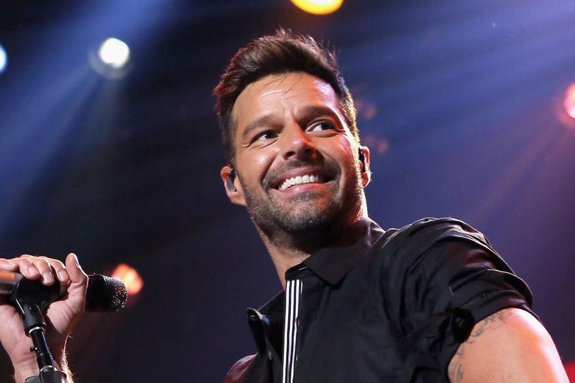 Ricky Martin megmutatta ritkán látott lányát - Lucia kék szemei téged is megigéznek