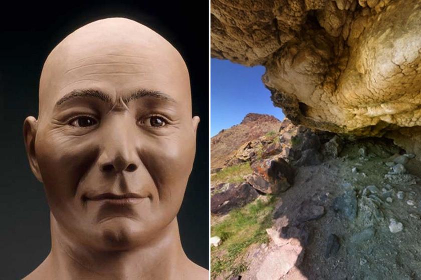 A világ legrégebbi természetes múmiája 10 ezer éves: rekonstruálták az arcát