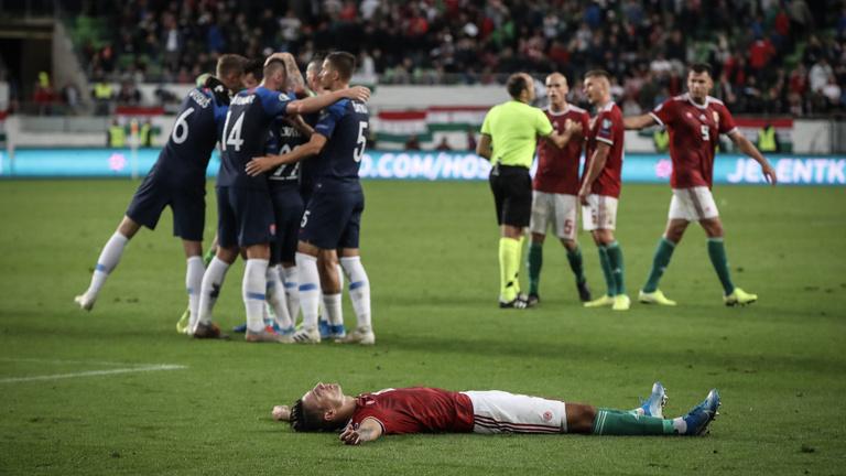 Szlovákia berúgta helyzeteit, 2-1-re nyert Budapesten