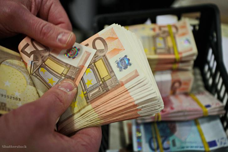 Eredeti 50 eurós bankjegy