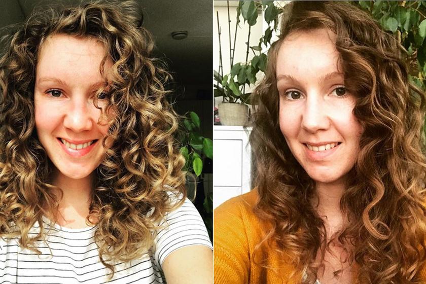 Három éve nem mosott samponnal hajat a fiatal nő: megmutatta, most milyen a frizurája