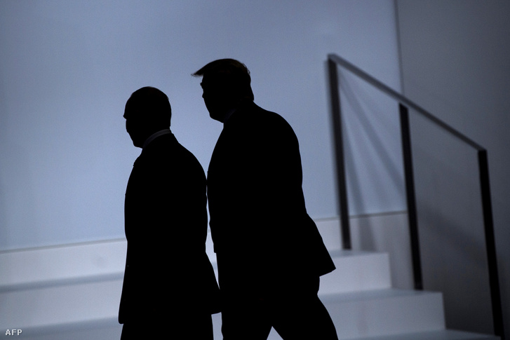 Putyin és Trump a G20-as találkozón
